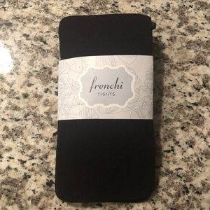 New Frenchi Black tights Size M/L